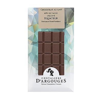 Tableta chocolate de Ecuador con leche 100g