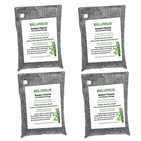 Amazon.com: Bolsa purificadora de aire de carbón vegetal de ...