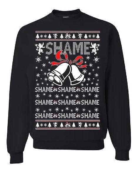 Backstreet Boys Christmas Sweater.Amazon Com Tutiinca Walk Of Shame Ugly Christmas Sweatshirt