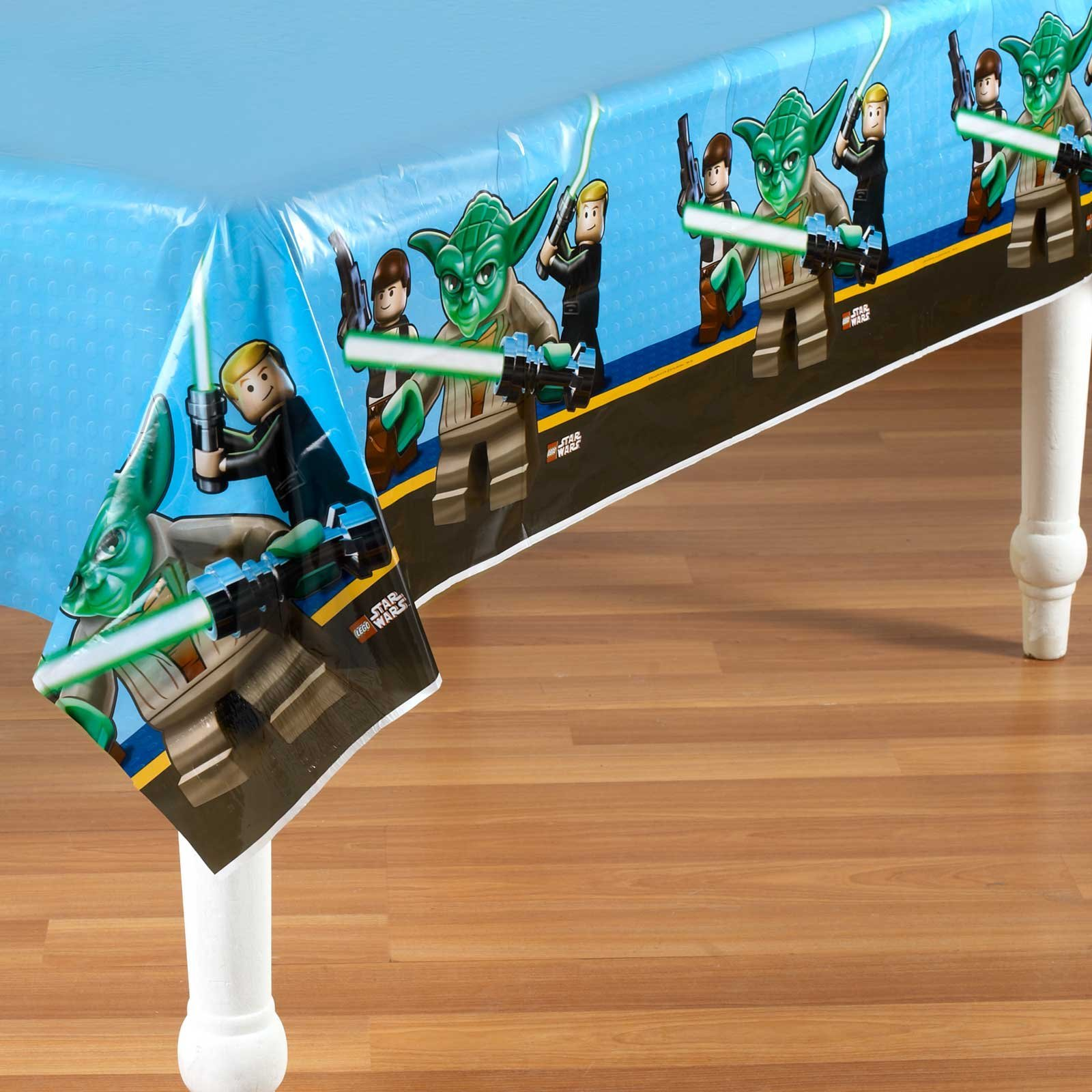 LEGO Star Wars Plastic Tablecover Party Accessory by Hallmark (Image #1)