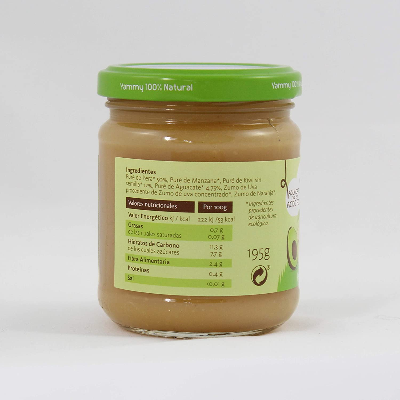 Yammy, Pack Meriendas Potitos y Galletas Ecológicos naturales +12 meses, Surtido - 12 unidades. (Total 2010 gr.): Amazon.es: Alimentación y bebidas