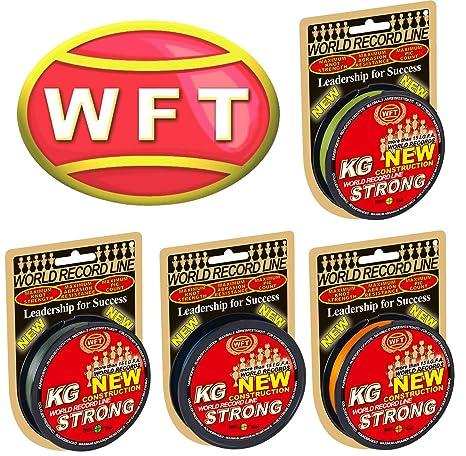 Geflochtene Schnur Geflechtschnur WFT KG Strong 150m 0,18mm 22kg Angelschnur Meeresschnur