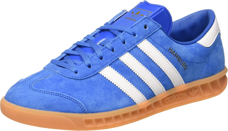 Adidas - Hamburg Bluebird - S76697 - Color: Blue-White - Size: 9.0 ...