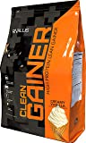 Rivalus Clean Gainer – Smooth Vanilla  10lb   -  Delicious Lean Mass Gainer with Premium Dairy Proteins, Complex Carbohydrates, and Quality Lipids, No Banned Substances, Made in USA