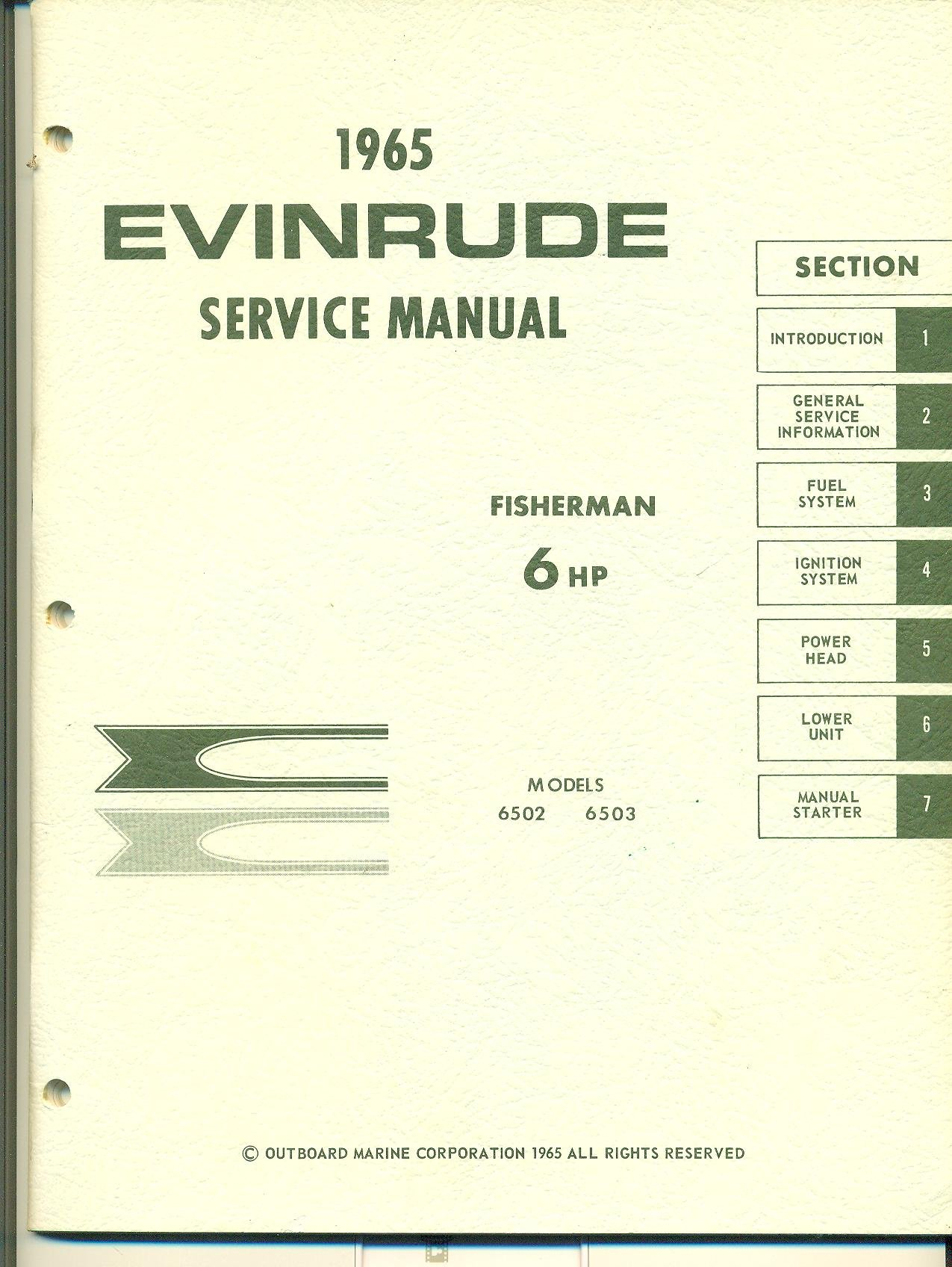 Evinrude 6 hp manual pdf