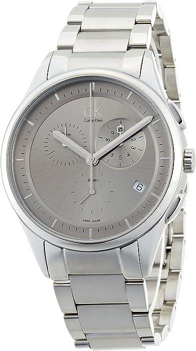 Uhr Ck Metall SilberUhren K2a27126 Klein Calvin QWedCrxBo