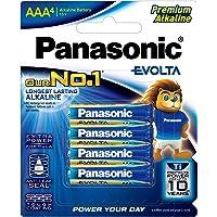 Panasonic Evolta Alkaline Battery, AAA, 4ct
