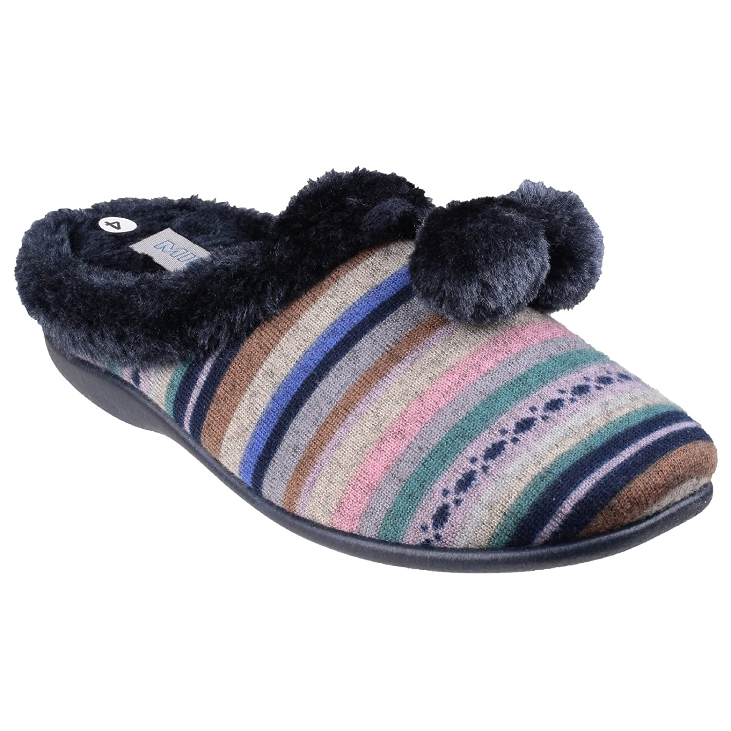 Mirak Chabilis - - Chaussons 15136 mules mules - Femme Blue 81511a0 - latesttechnology.space