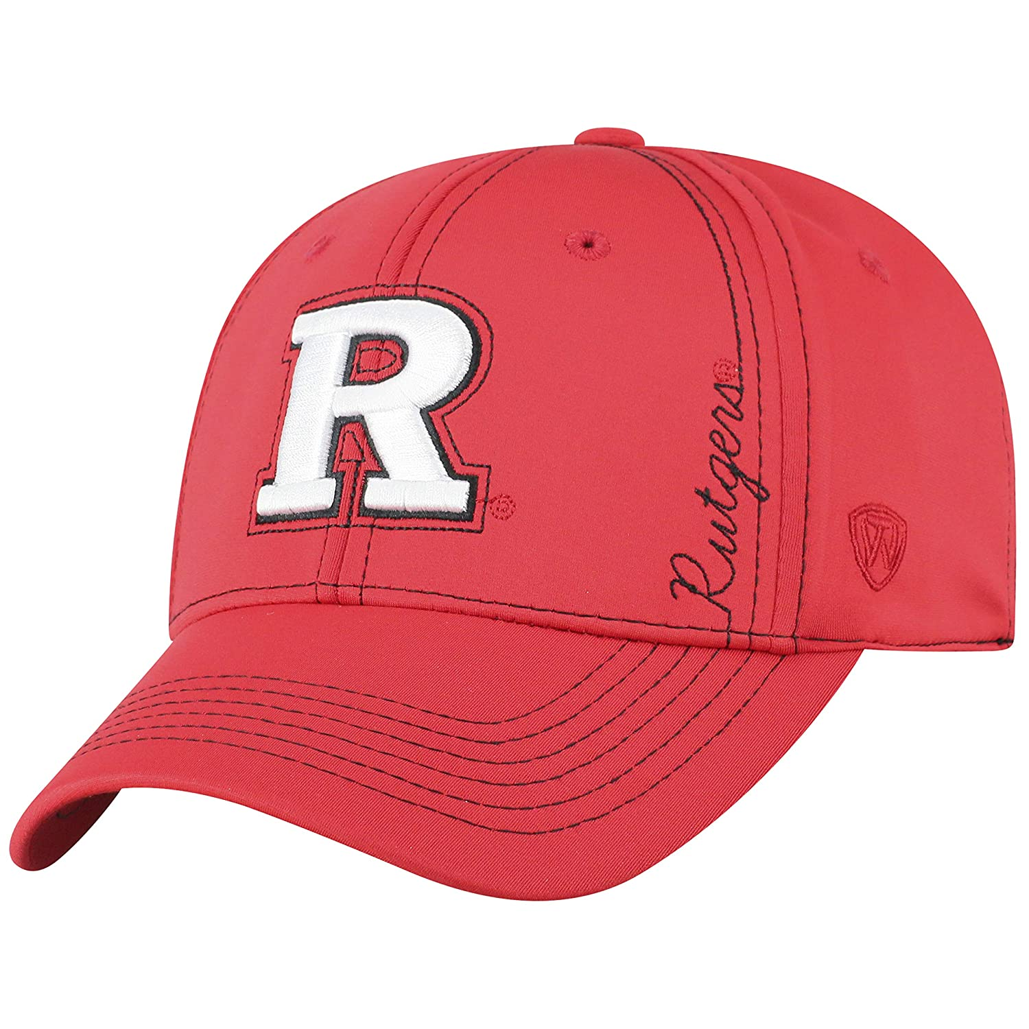 new concept 42d01 86a29 Amazon.com   Top of the World Rutgers Scarlet Knights Official NCAA One Fit  Learning Curve Hat Cap 451152   Sports   Outdoors