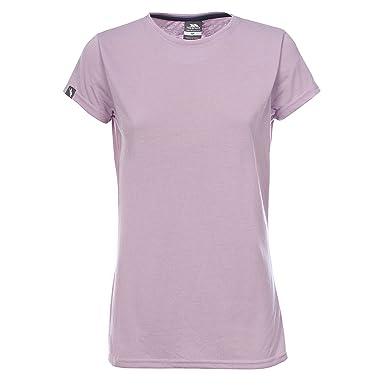 a4e458b3 Trespass Womens/Ladies Lea Soft Crew Neck Short Sleeve T-Shirt (XL ...