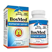 Terry Naturally BosMed Respiratory Support - 375 mg Boswellia Complex, 60 Softgels...