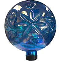 Gardener's Select A14BFG03   Glass Gazing Globe, Blue, 10