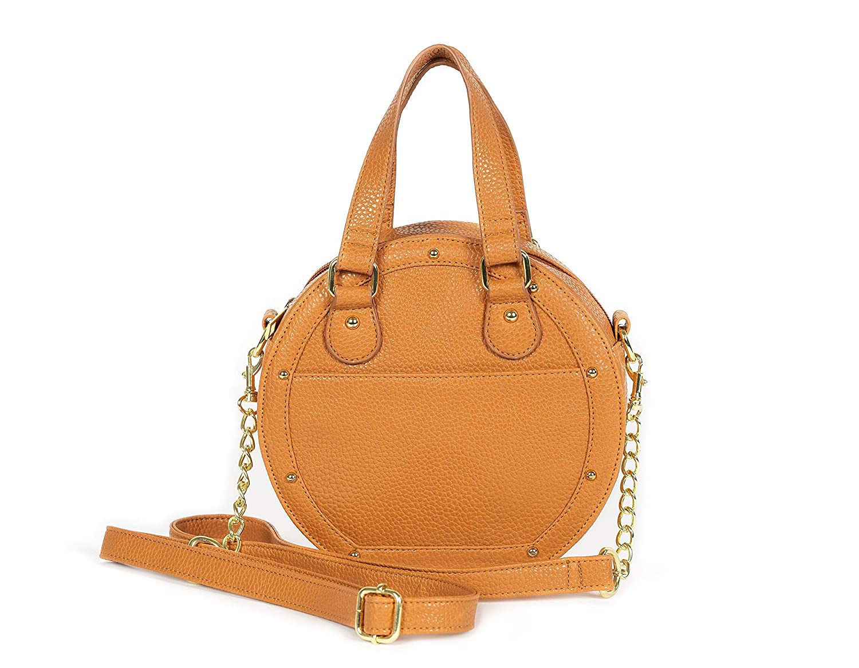 Dolce Vita Womens Vegan Leather Black Crossbody Bag