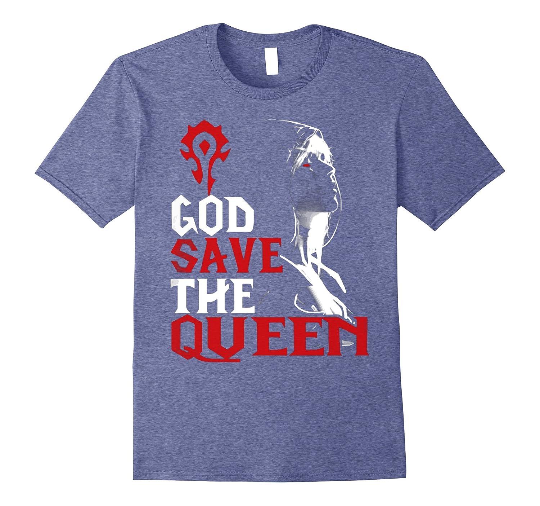 God Save The Queen T Shirt Sylvanas Windrunner Wow Vaci Vaciuk