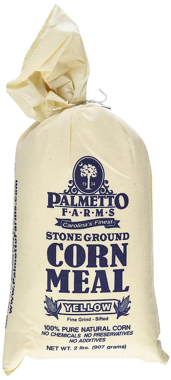 Palmetto granjas Amarillo maíz comida Harina – Terreno de piedra – non-gmo – Natural Sin Gluten, Producido en una instalación de trigo gratuito