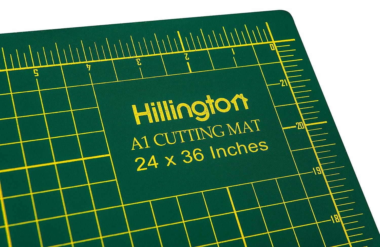 Hillington A1 Cutting Mat Size Non Slip Printed Grid