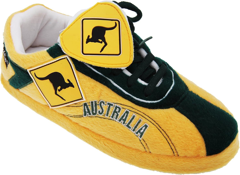 Sloffie Mens Australia Plush Football