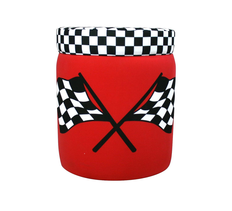 Cool Newco Kids Race Car Storage Ottoman Red Evergreenethics Interior Chair Design Evergreenethicsorg