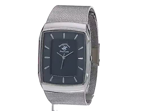 Amazon.com: US Beverly Hills Polo Club Mens Quartz Metal and Alloy Watch, Color Silver-Toned (Model: 53301): Watches