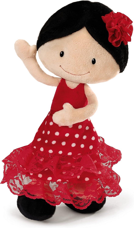 NICI - Mini Carmen, Flamenca de Peluche, 30 cm (38927)