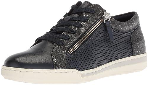 3bb2a327 Tamaris Women's Freya 23619 Sneaker, Navy Combo, 36 Medium EU (5.5-6
