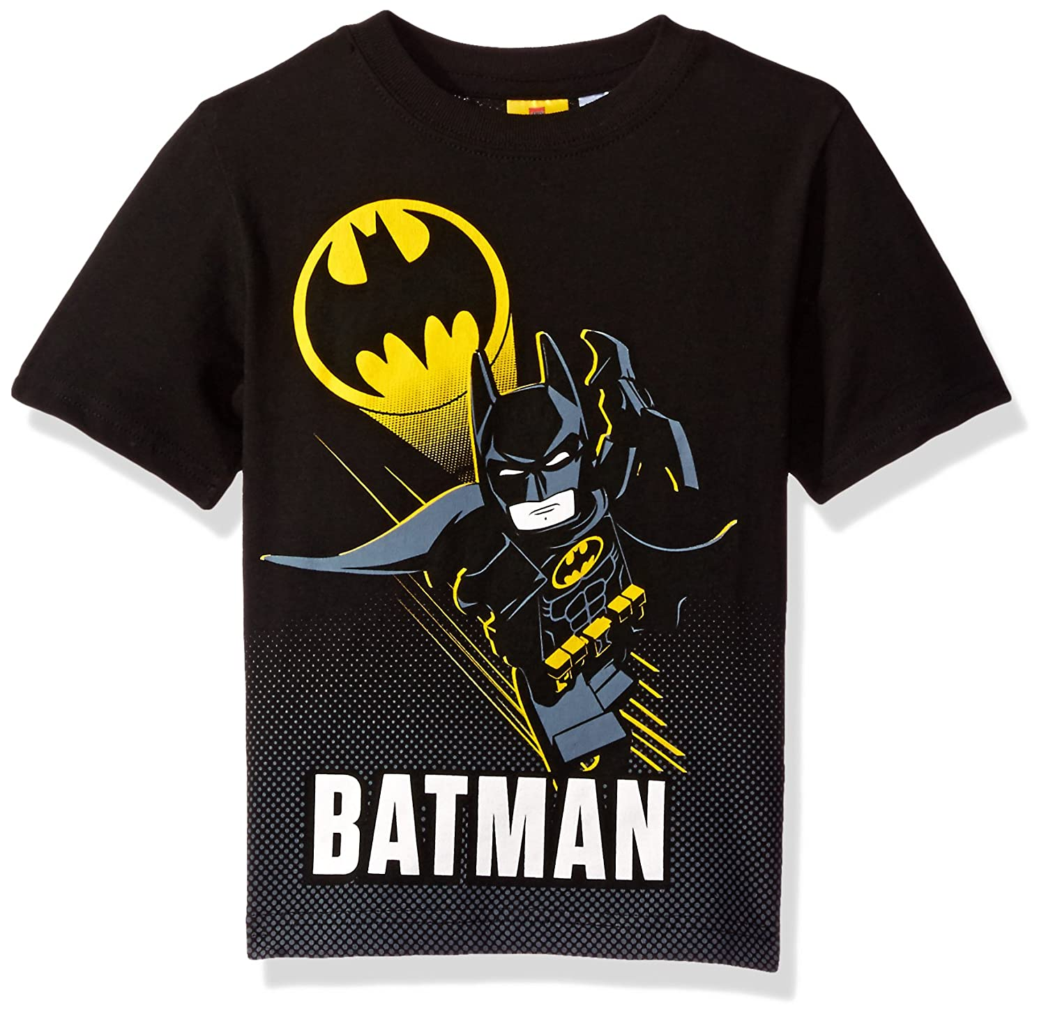 Black t shirt batman - Amazon Com Dc Comics Boys Lego Batman T Shirt Fashion T Shirts Clothing