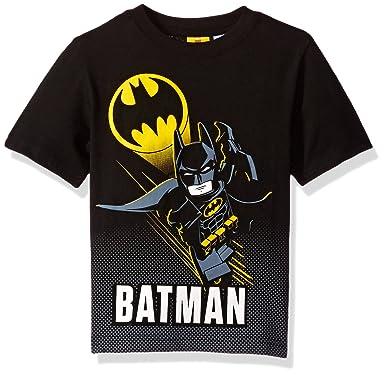 Amazon.com: DC Comics Boys Lego Batman T-Shirt: Fashion T Shirts ...
