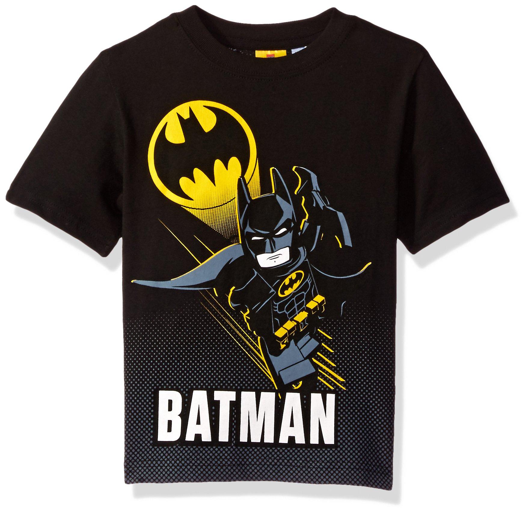 galleon dc comics little boys 39 lego batman t shirt black 7. Black Bedroom Furniture Sets. Home Design Ideas