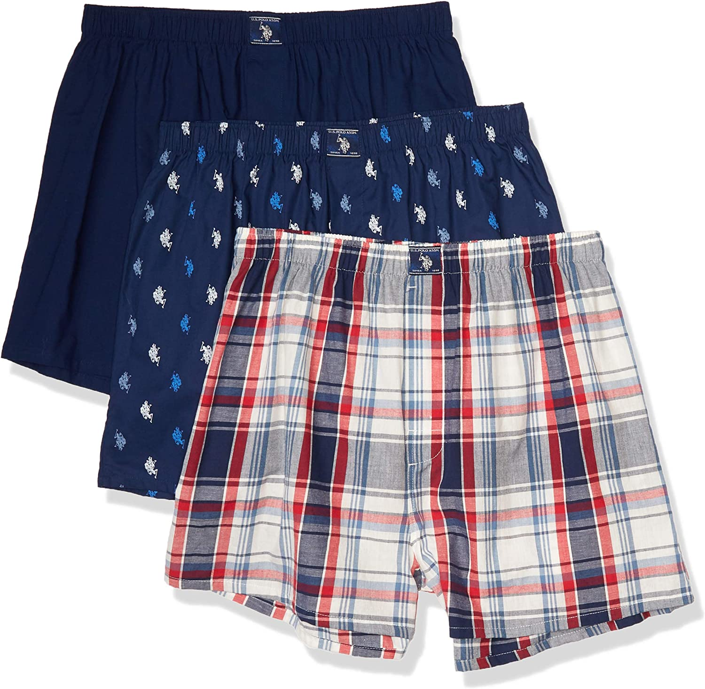 U.S Mens Stretch Woven Short Shorts Polo Assn
