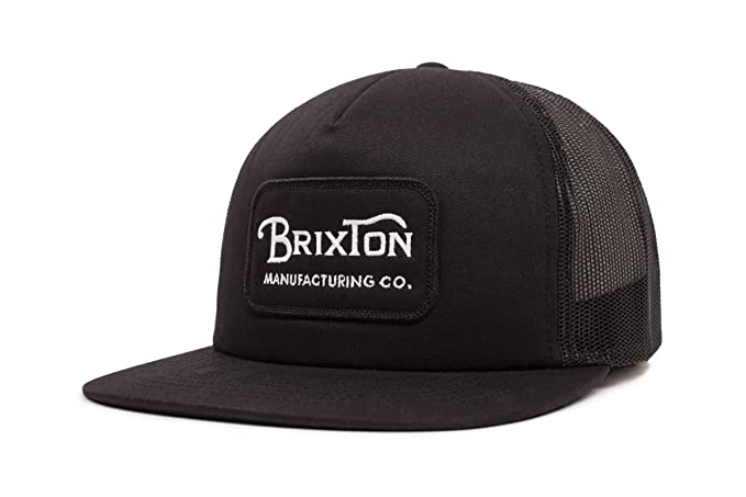 Amazon.com  Brixton Men s Grade HIGH Profile Adjustable MESH HAT ... 37a5ec58612a