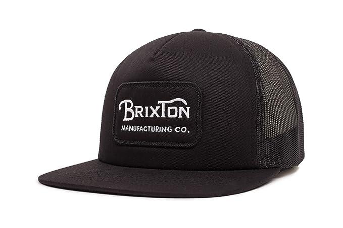 Amazon.com  Brixton Men s Grade HIGH Profile Adjustable MESH HAT ... 37a5ec58612a