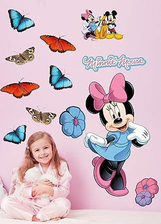 Disney U0026quot;Mickey U0026amp; Friendsu0026quot; Minnie Mouse Wall Decal ... Part 83