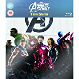 Marvel Avengers Assemble - 6 Movie Collection: (Iron Man 1 & 2, Incredible Hulk, Thor, Captain America & The Avengers) [Blu-Ray]