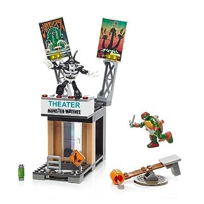 Mega Bloks Teenange Mutant Ninja Turtles Raph Rooftop Blast-Out Building Playset: Toys & Games