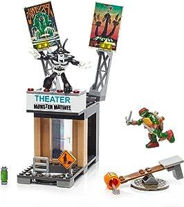 Mega Bloks Teenange Mutant Ninja Turtles Raph Rooftop Blast-Out Building Playset