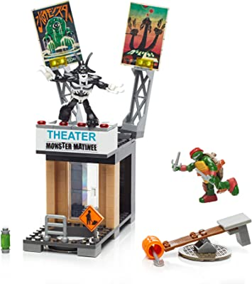 Amazon.com: Mega Bloks teenange Mutant Ninja Turtles Raph en ...