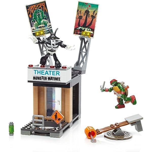 Mattel Mega Bloks dpf64 - Teenage Mutant Ninja Turtles ...