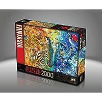 Ks Games- Mars & Venus Adrian Chesterman 2000 Parça Puzzle