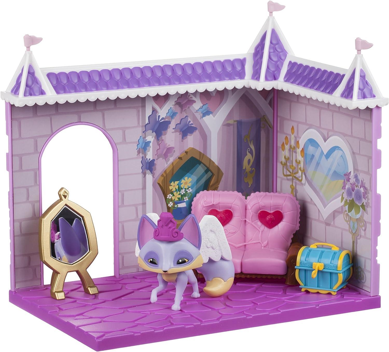 Amazon Com Animal Jam Princess Castle Den With Limited Edition Fancy Fox Playset Toys Games