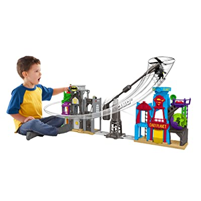 Fisher-Price Imaginext DC Super Friends, Super Hero Flight City: Toys & Games