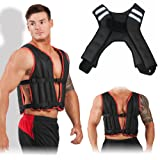 Gallant Weighted Vest 5,10,20Kg Gym Weight Training Running Adjustable Jacket Removable Weight Crossfit Weight Loss Body Workout Vest