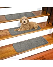 Ottomanson Softy Solid Set of 14 Skid Resistant Rubber Backing Non Slip Carpet