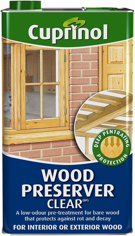 Cuprinol 5l Wood Preserver Clear