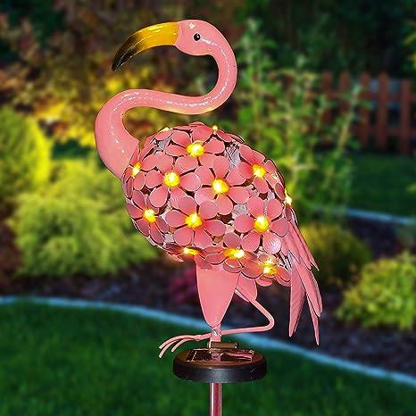 Outdoor Flamingo Light