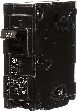 Tested I-T-E Q120 Single Pole Circuit Breaker 20 amp