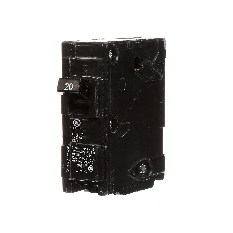 Q130 30-Amp Single Pole Type QP Circuit Breaker Siemens