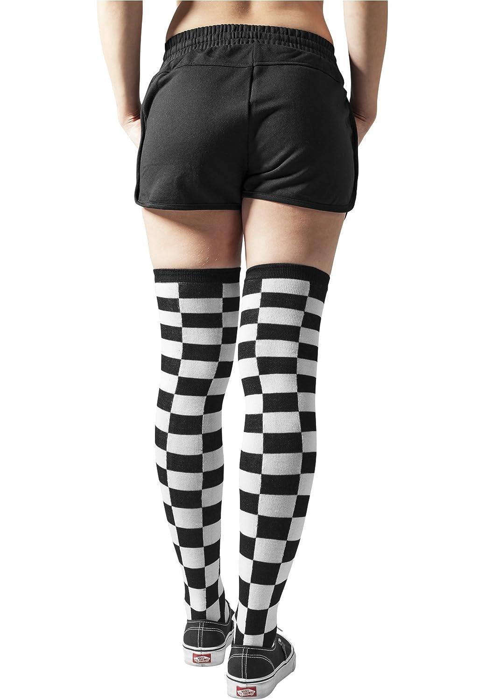 Ladies Checkerboard Overknee Socks Urban Classics Streetwear lencería mujer: Amazon.es: Deportes y aire libre