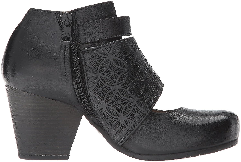 Miz Mooz Women's Dale Ankle Boot B06XRKMFDN 7.5 B(M) US Black