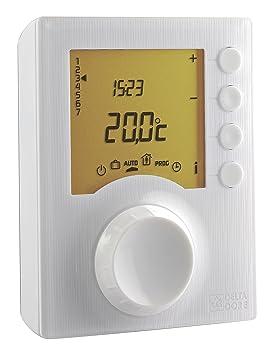 Delta Dore 6053008 Tybox 217 Thermostat Programmable Jusqu à 6 Niveaux De Consigne