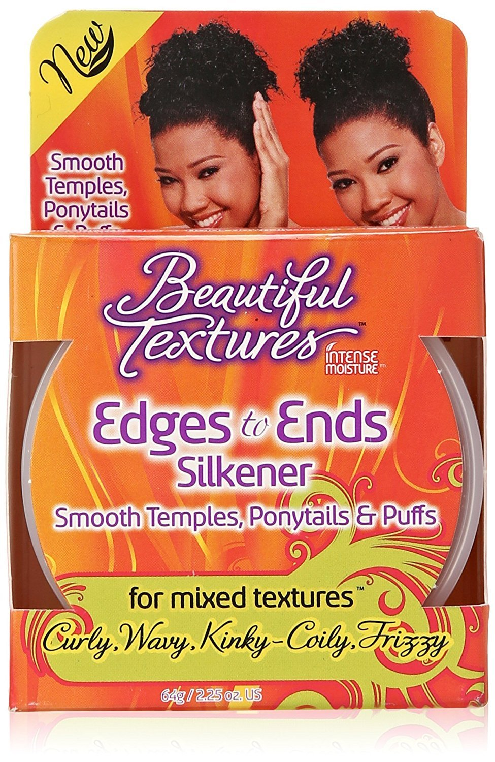 Beautiful Textures Edges To Ends Silkener, 2.25 oz. Atlas Ethnic 704039